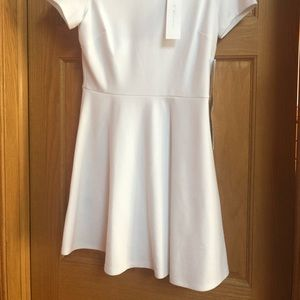 BCBGeneration Dresses - NEW BCBGeneration  White Short Sleeve Dress